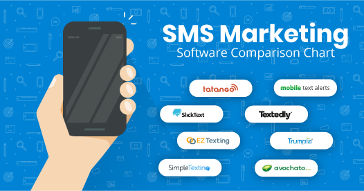 sms marketing software comparison chart